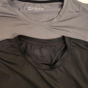 Under Armour Shirts - Under armor xxl heat gear compression shirts lot